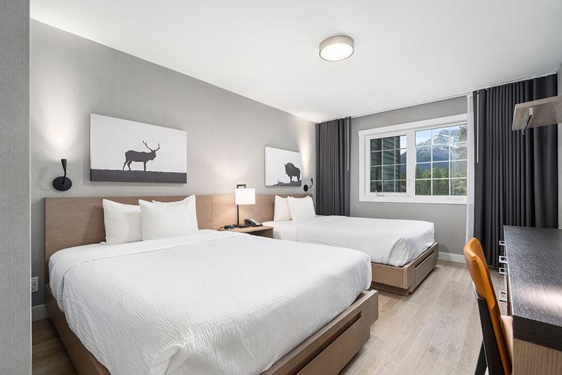 2 queen beds in second bedroom