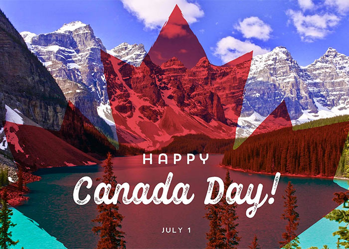 Happy Canada Day from the Lake Louise Inn
